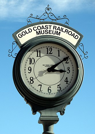 Gold Coast Railroad Museum - Image: The Gold Coast Railroad Museum 01