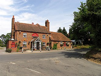 Basildon, Berkshire - Image: The Intersection at the Red Lion geograph.org.uk 20622