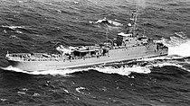 The Libyan Polnochny class landing ship.JPEG