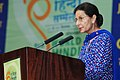 The Minister of State for External Affairs, Smt. Preneet Kaur addressing the 9th World Hindi Conference, in Johannesburg, South Africa on September 22, 2012.jpg