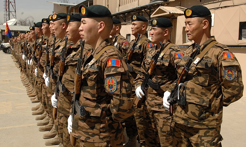 Mongolian Expeditionary Task Force 1