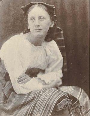 Prinsep - 'May' Prinsep, daughter of Charles Robert Prinsep. Photographed by Julia Margaret Cameron, 1866.