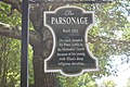 The Parsonage sign in Natchez, MS IMG 6966.JPG