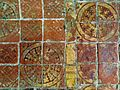 The Pendley Chapel, Church of St. John the Baptist, Aldbury - encausted tiles.jpg