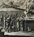 The Phillip Medhurst Picture Torah 547. A sacrifice. Leviticus cap 14 v 10. Heuman.jpg