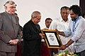 The President, Shri Pranab Mukherjee at the inauguration of the Kochi Muziris Biennale Seminar on 'Importance of Sustainable Cultural Building', at Kochi, in Kerala (1).jpg