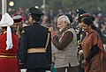The President, Shri Ram Nath Kovind and the Prime Minister, Shri Narendra Modi at the 'Beating Retreat' ceremony, at Vijay Chowk, in New Delhi on January 29, 2018 (1).jpg