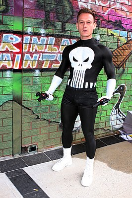 Cosplayer - The Punisher, 2013