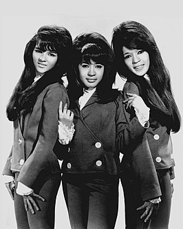 The Ronettes in 1966.
