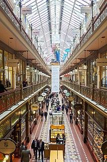 The Strand Arcade shopping mall in Sydney, Australia