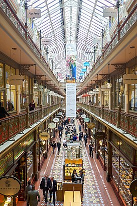 How to get to The Strand Arcade with public transport- About the place