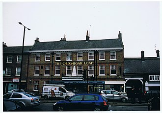 Dunstable - The Sugar Loaf coaching inn or public house, 2011.