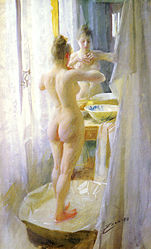 Anders Zorn: The Tub