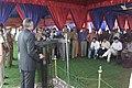 The Union Home Minister, Shri Shivraj V. Patil addressing the media persons at the 67th CRPF raising day function, in New Delhi on October 28, 2006.jpg