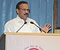 The Union Minister for Law & Justice, Shri D.V. Sadananda Gowda addressing at the observance of Legal Services Day and Commendation Ceremony, in New Delhi on November 09, 2015.jpg