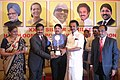 The Union Minister of Textiles, Shri Dayanidhi Maran and the Dy. Chief Minister of Tamil Nadu, Dr. M. K. Stalin distributed the XXV–Silver Jubilee Handloom Export Awards, at a function, in Chennai on August 10, 2009.jpg