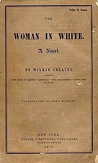 <i>The Woman in White</i> (novel) 1859 novel by Wilkie Collins
