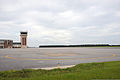 The flight line at Naval Air Station Whiting Field, Fla., is cleared for Hurricane Isaac Aug. 27, 2012 120827-N-WW980-009.jpg