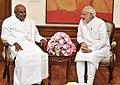 The former Prime Minister, Shri H.D. Deve Gowda calling on the Prime Minister, Shri Narendra Modi, in New Delhi on June 03, 2015 (1).jpg