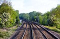 The railway curves away from Cropredy - geograph.org.uk - 1330100.jpg