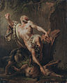 The tragic end of milon of Crotone, by Jean - Jacques Bachelier.jpg