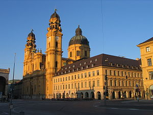Theatine Church, Munich - The Theatinerkirche in Munich