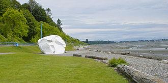 White Rock, British Columbia - White Rock's namesake