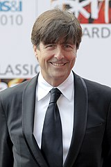 Thomas Newman podczas gali Classic Brit Awards w 2010 roku