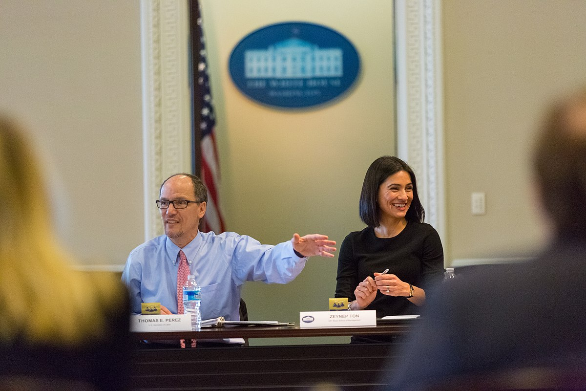 Thomas Perez and Zeynep Ton, 2016 (3).jpg