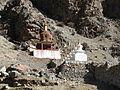 Tibet - Trek 2 - 02 chortens of Tsurpu Monastery (150294389).jpg