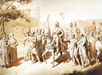 Tigranes the Great - The King of Kings Tigranes the Great with four vassal Kings surrounding him