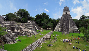 Tikal Mayan ruins Guatemala (Photo credit: Wikipedia)