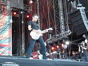 Tim McIlrath - Tim McIlrath playing at Sziget Festival in Budapest in 2011