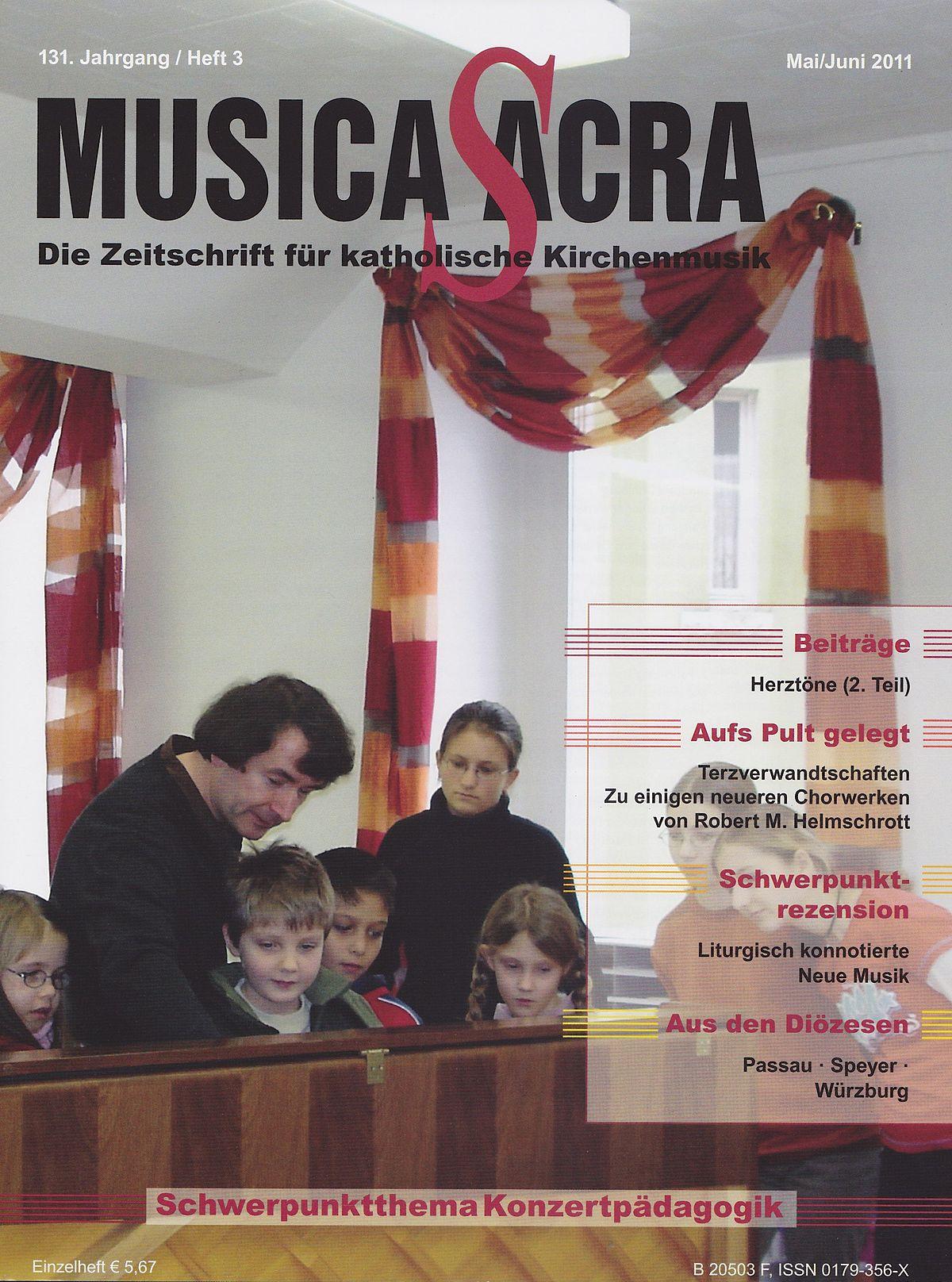 Musica sacra (Zeitschrift) – Wikipedia