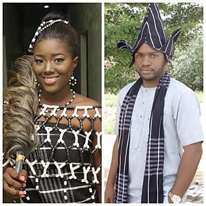 Tiv people - Tiv bride and groom