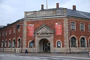 Helsingør Custom House - The main entrance on Havnepladsen