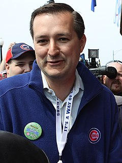 Thomas S. Ricketts Chairman of the Chicago Cubs