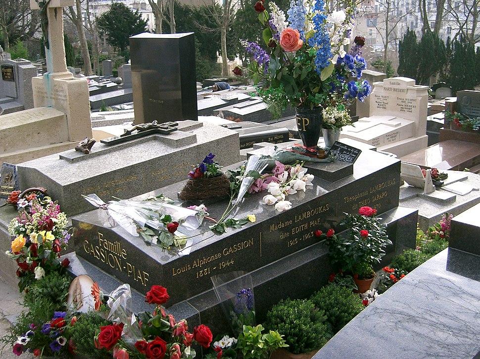 Tombeau d'Edith Piaf