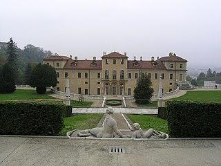 Villa della Regina palace in the city of Turin, Italy