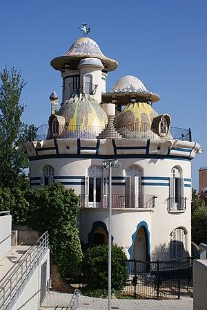 """Sant Joan Despí - Torre de la Creu, or """"the Egg House"""""""