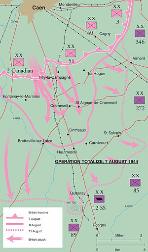 Operation Totalize - Map of Operation Totalize.