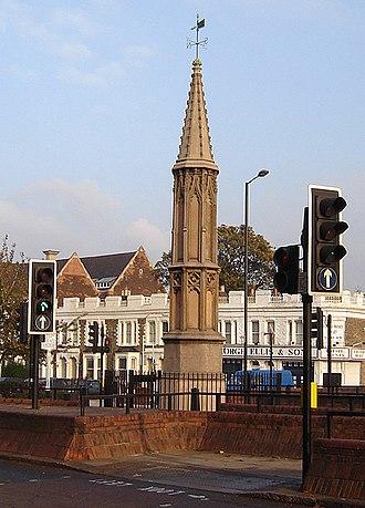 Tottenham High Cross - Tottenham High Cross, Haringey. (November 2005)