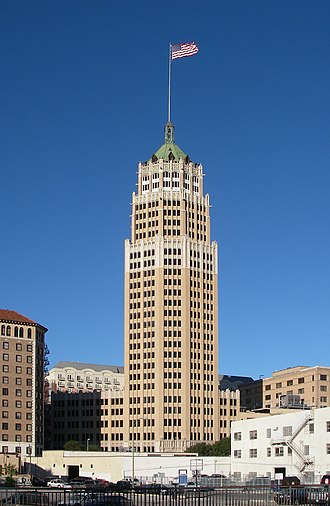 Tower Life Building - Image: Tower Life Building, San Antonio, 2011