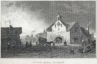 Town Hall, Ruthin, Denbighshire