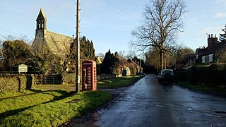 Scampston Village and civil parish in North Yorkshire, England