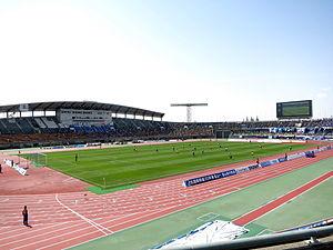 富山県総合運動公園陸上競技場 ...