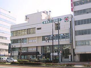豊橋商工信用組合の本店(移転前)