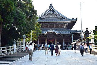 Toyokawa Inari Buddhist temple in Toyokawa, Aichi, Japan