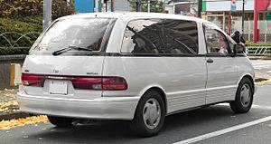 Toyota Previa - 1990–1994 Toyota Estima