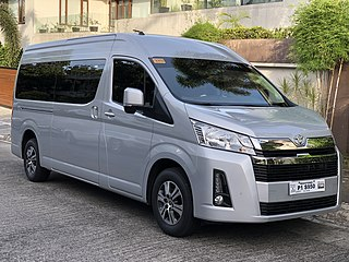 Toyota HiAce Van manufactured by Toyota